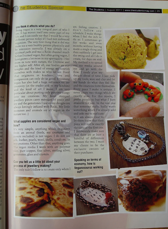 The Students Mag interview page 2
