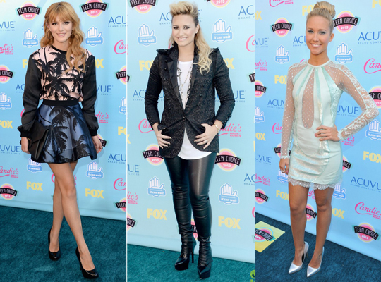 Famosas no Teen Choice Awards 2013