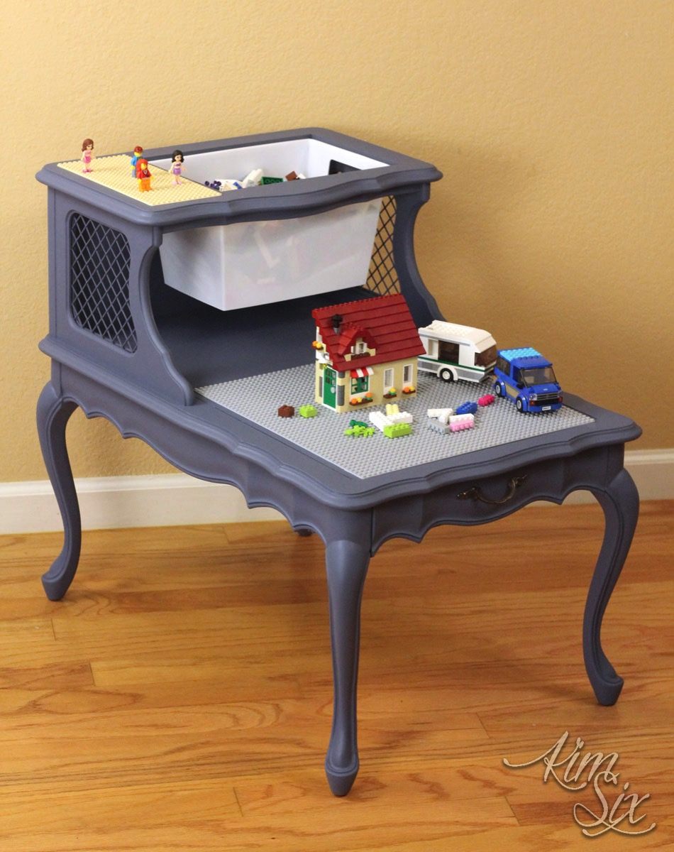Two Level LEGO table