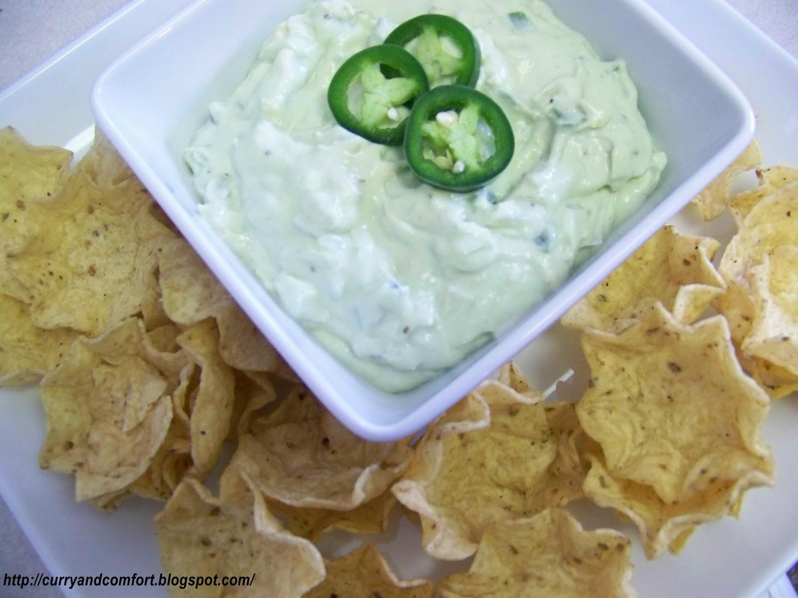 Kitchen Simmer: Creamy Guacamole Dip