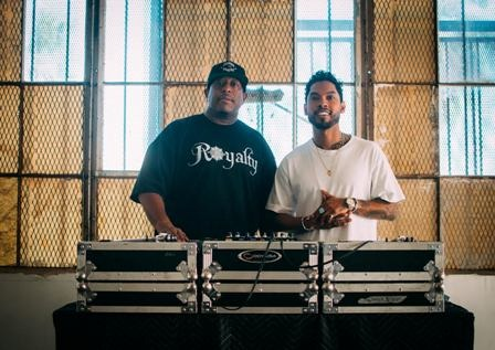 DJ Premier & Miguel Photo
