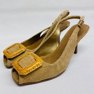 Prada Peeptoe Sandals