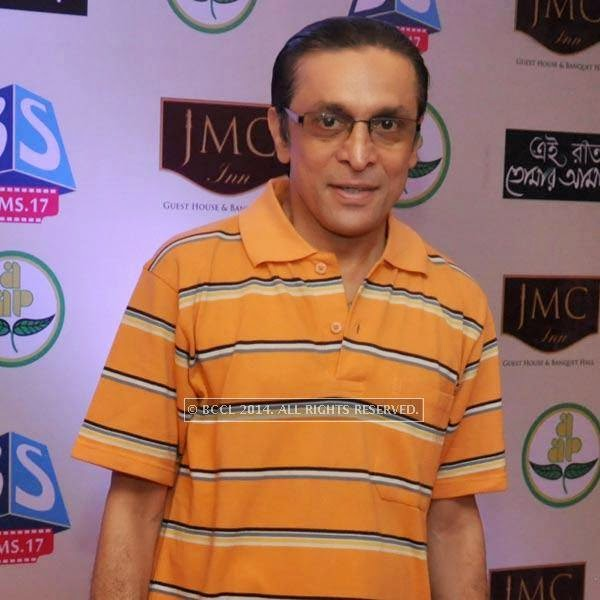Subhasish Mukherjee during audio launch of Ei Raat Tomar Amar at Kasba, Kolkata.<br />