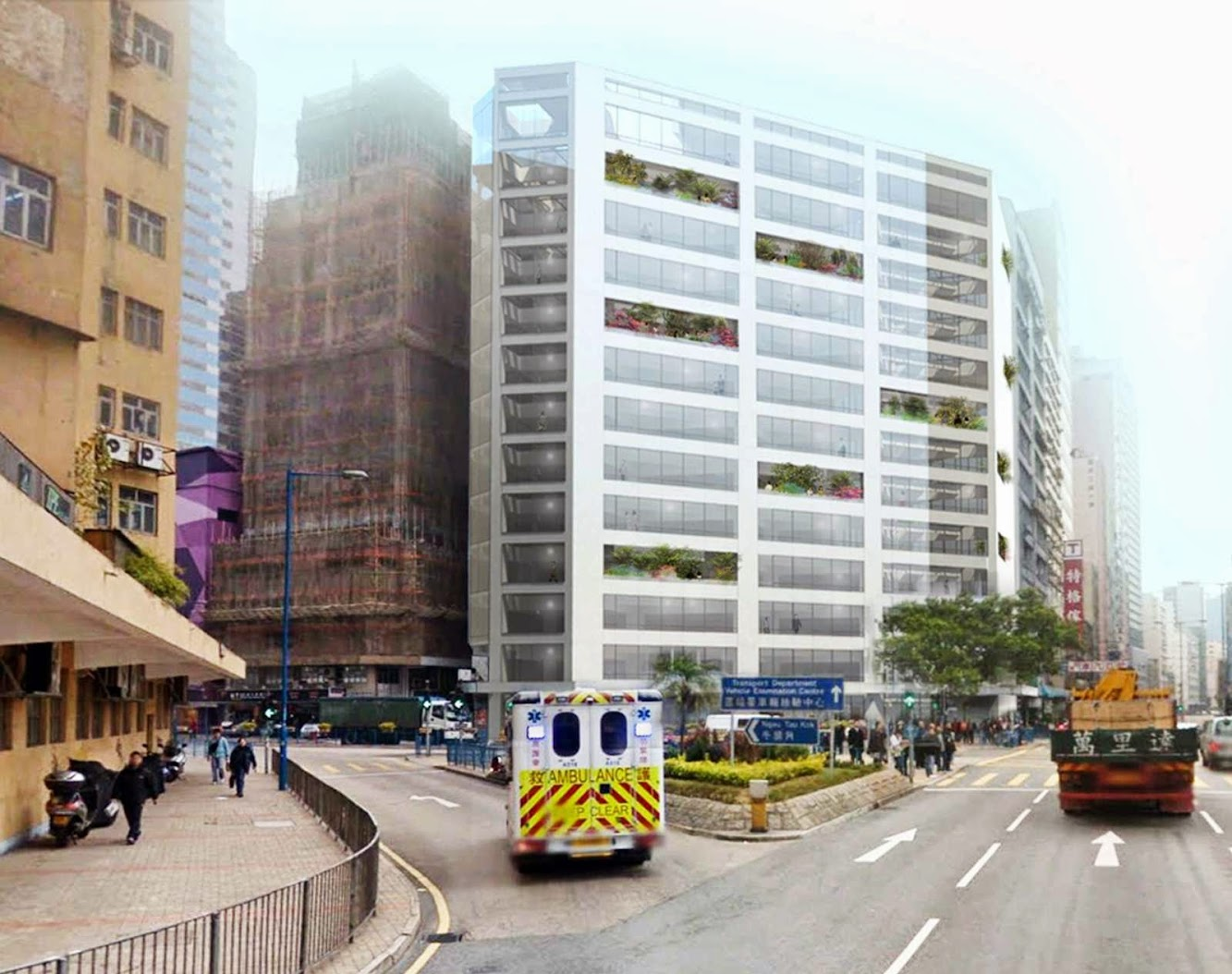 Hong Kong: Cheung Fai Building by Mvrdv
