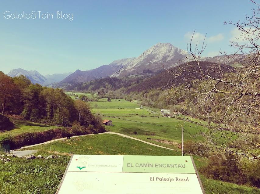 Ruta senderista El Camín Encantau