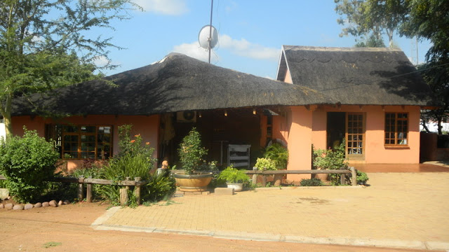 Home of Maatla, Tebogo's son within her compound