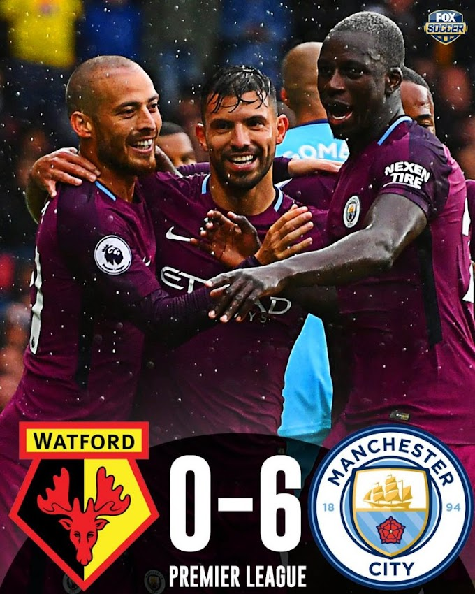 Video: Watford 0 – 6 Manchester City [Premier League] Highlights 2017/18