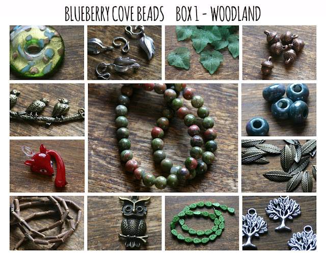 Woodland Bead Box from Blueberry Cove Beads