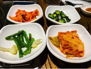 Kobi Korean BBQ Thornhill: banchan