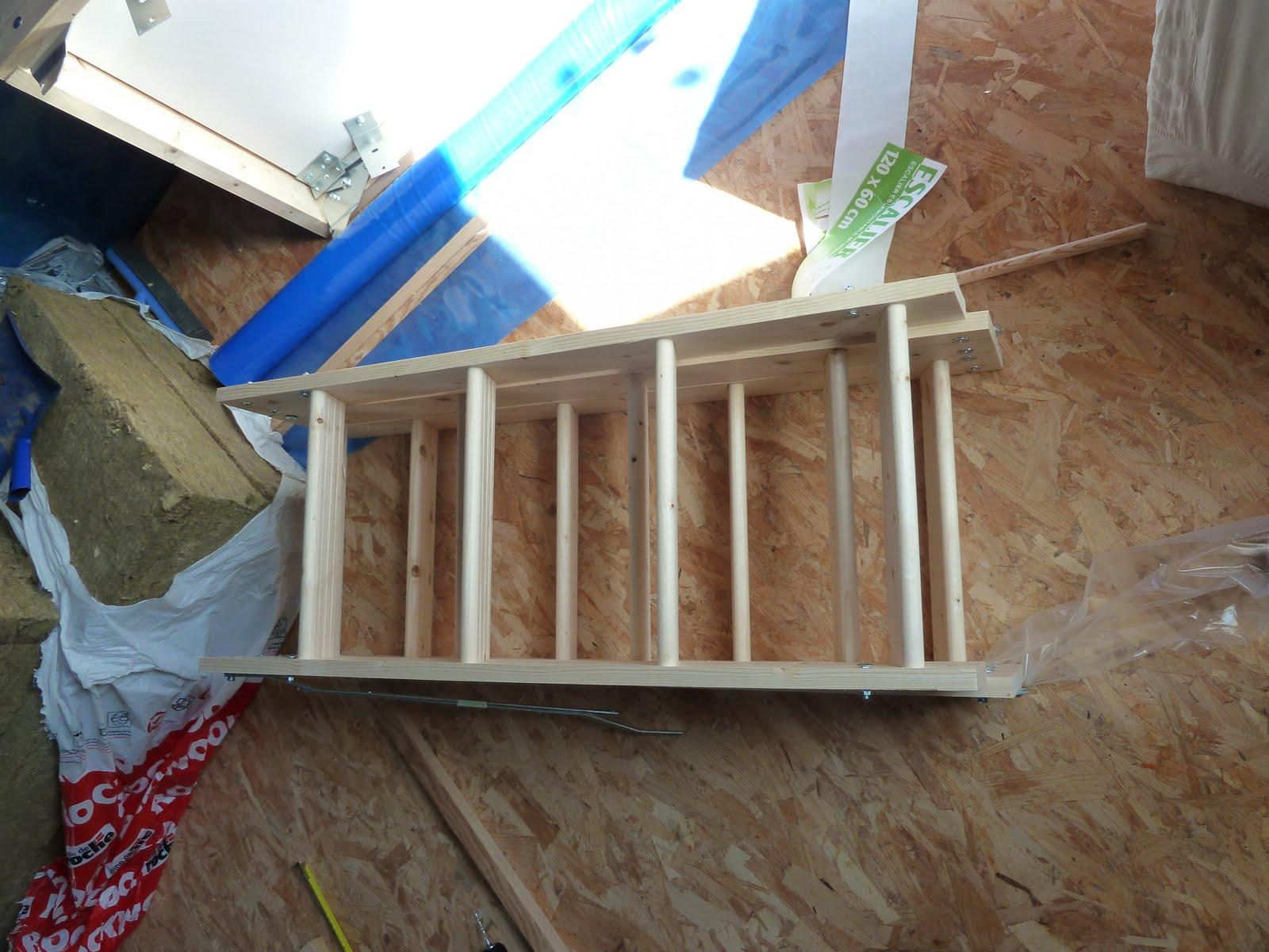 31 03 2012 pare vapeur et trappe grenier notre maison bois. Black Bedroom Furniture Sets. Home Design Ideas