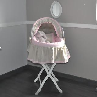 cr ations berceau couffin et linge de lit de b b de cocon d 39 amour. Black Bedroom Furniture Sets. Home Design Ideas