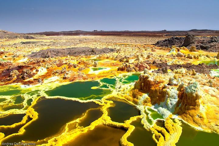 Эфиопия. Вулкан Даллол 4