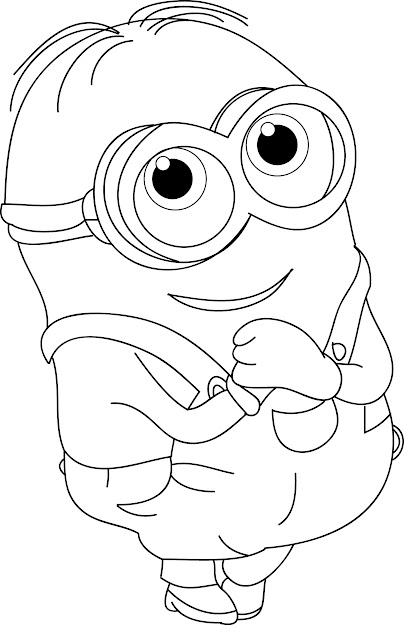 Free Minions Coloring Pages Has Minions Coloring Pages With Hd