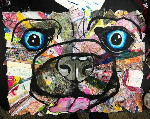 smART Class: Collage animals