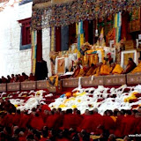 Massive religious gathering and enthronement of Dalai Lama's portrait in Lithang, Tibet. - l73.JPG