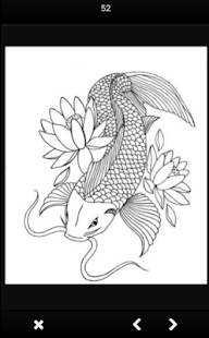 Sketsa Ikan Koi Apk Unduh Android Senidesain приложение Aplikasi