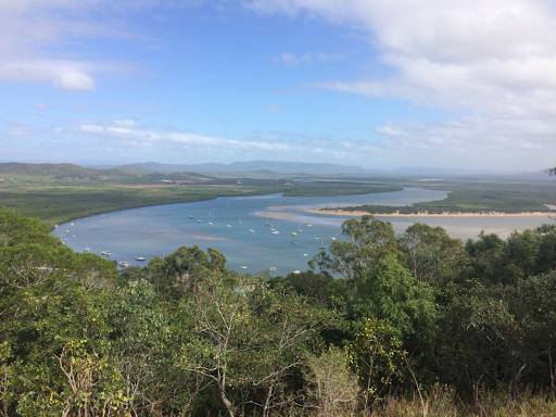 The view from Grassy Hill, Cooktown.