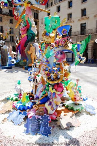 Hoguera Oficial Infantil Ayuntamiento 2014