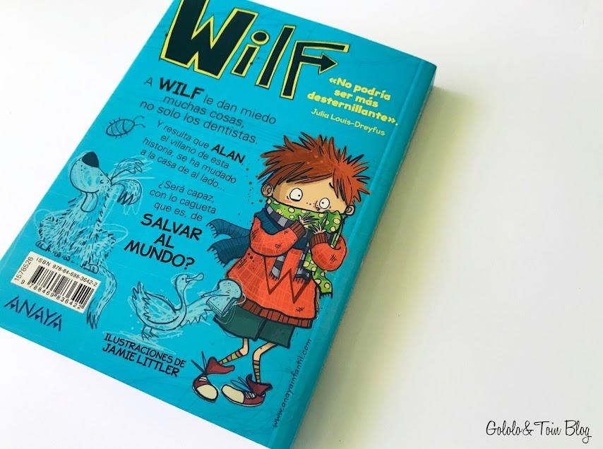 Wilf, libros humor editorial Anaya infantil y juvenil