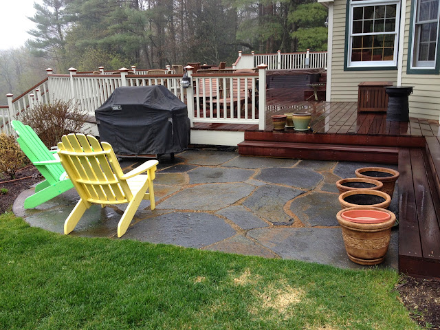 Intimate BBQ Patio off Ipe Deck
