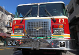 Fire engine, they look so much cooler than the ones we have in Germany (© 2010 Bernd Neeser)