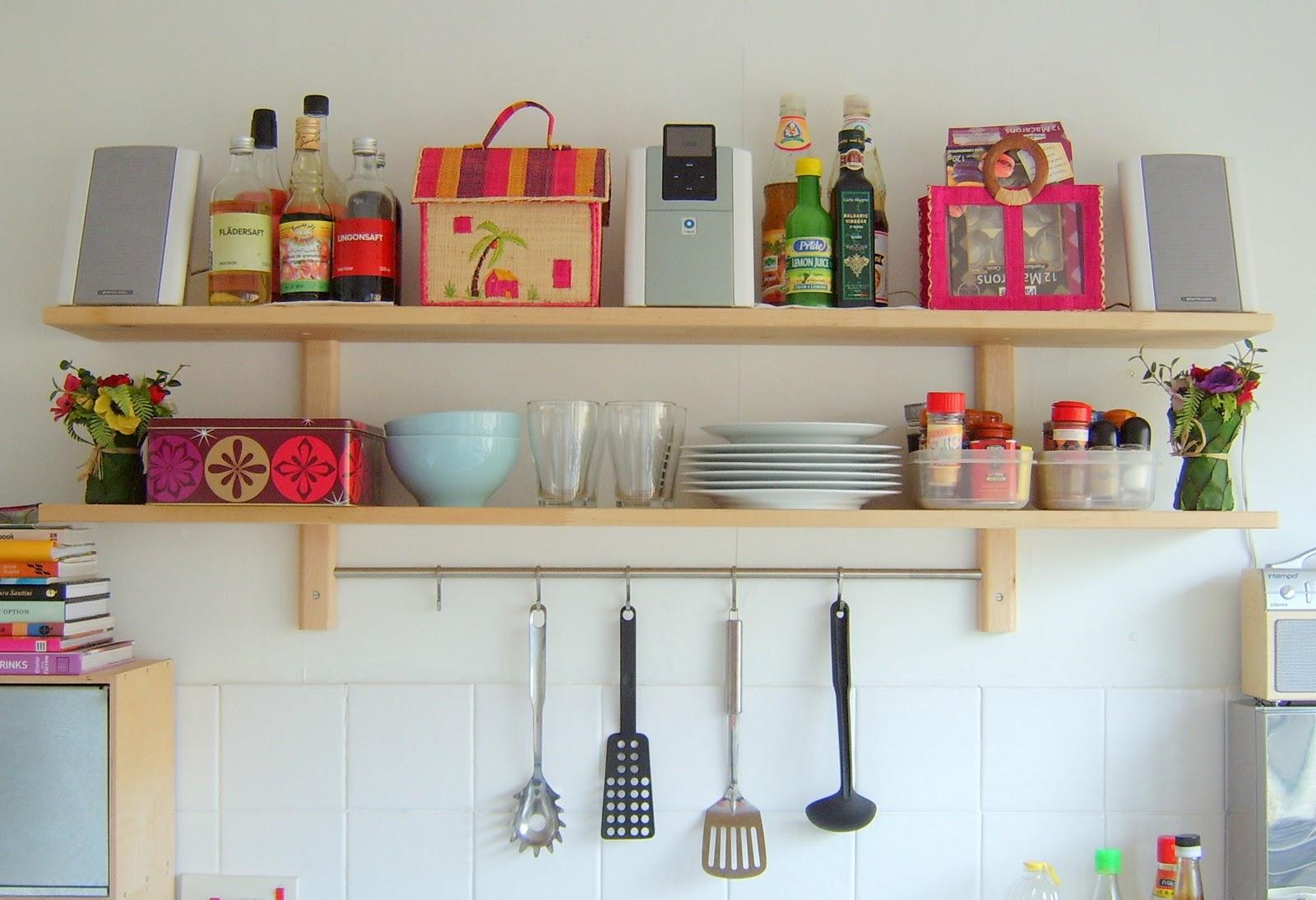 Controla el caos en la cocina primera parte mi casa - Estanterias para cocinas ...