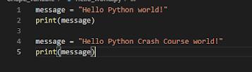 Hello code