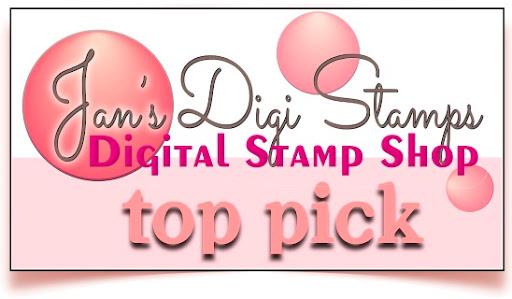 Top 3 Pick for Jan's Digi Stamps Challenge Blog