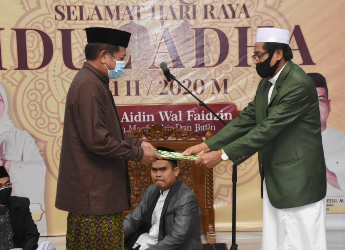 Bupati Soppeng Shalat Idul Adha 1441 H di Masjid Agung