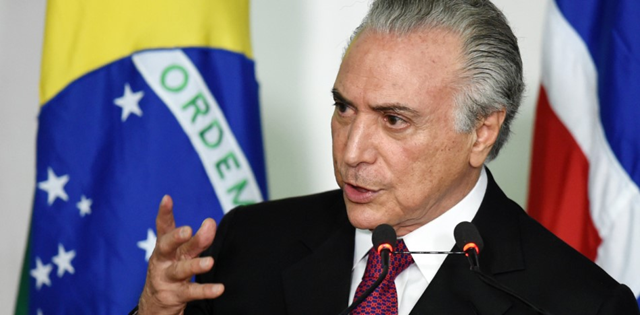 Brazil President Michel Temer. Photo: Cuba debate