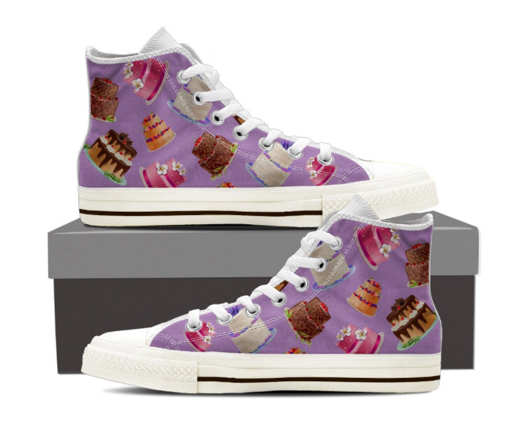 cake decorator sneakers