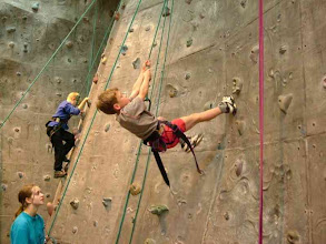 Photo: Indoor Climbing at Redhill