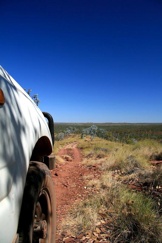 Outback scenery Australia landcruiser tyre offroad adventure