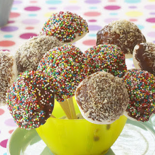 Chocolate Dipped Marshmallows.