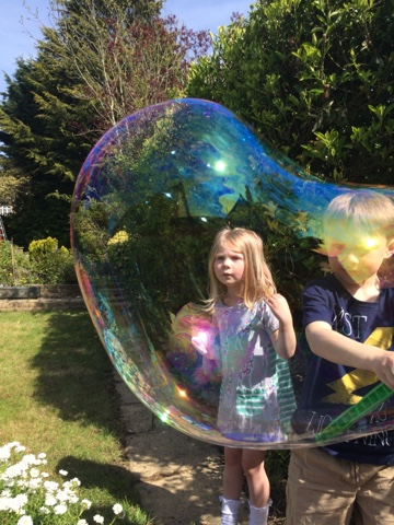 Gazillion Incredibubble Wand Review with Blake and Maegan Clement