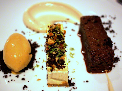 Hazelnut Parfait at Kitchen W8 Restaurant