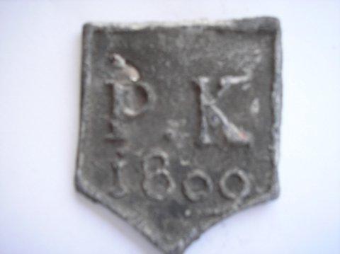 Naam: Pieter KeunPlaats: HaarlemJaartal: 1809Boek: Steijn blz 39