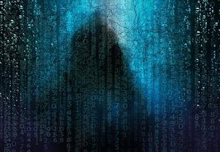 A hacker terminal