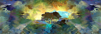 """The """"Morning Light Panorama"""" piece from the """"2002"""" collection"""