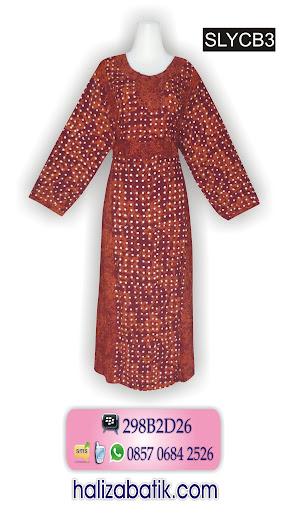SLYCB3 Model Baju Batik Perempuan, Model Batik Terkini, SLYCB3
