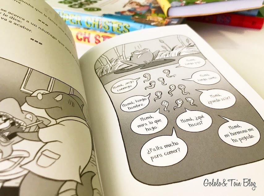 super chistes, libros de chistes para niños