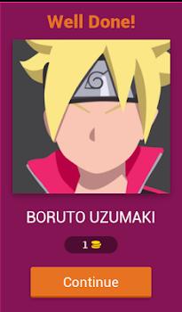 Guess Boruto character