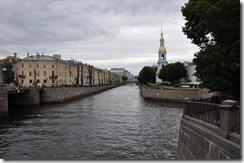 les canaux de saint petersbourg