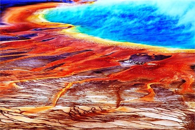 Йеллоустонский супервулкан, США. Фото