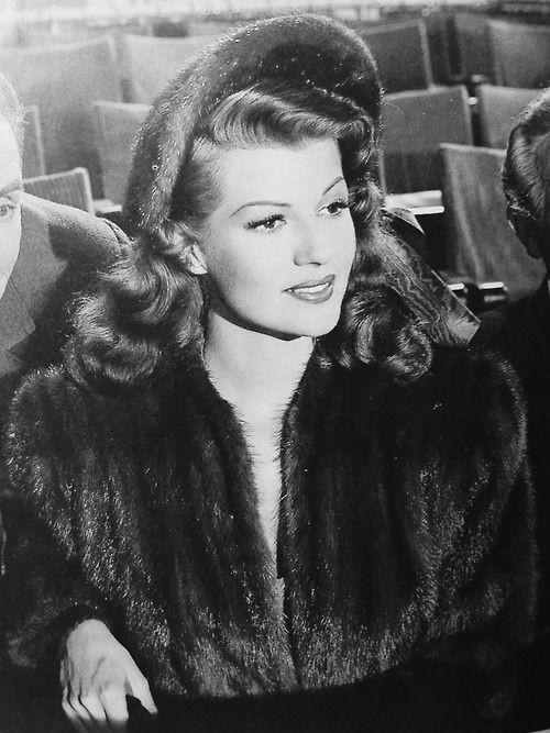 The beautiful Rita Hayworth