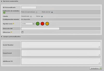 Añadir y modificar agentes en Pandora FMS