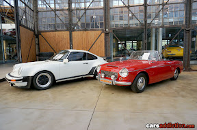 1977 Porsche 911 and 1965 Datsun Fairlady