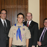 Matthew and the Scout Executives