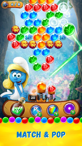 Smurfs Bubble Shooter Story  mod screenshots 1