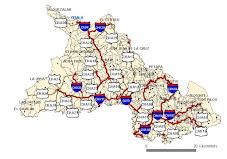 Principales carreteras de Chalatenango